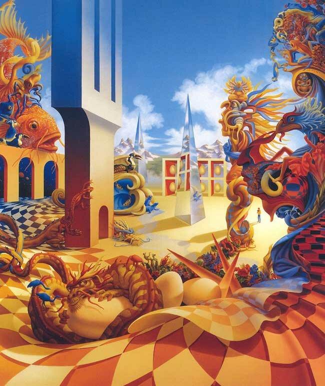 Рисунки фэнтези Мейер 7