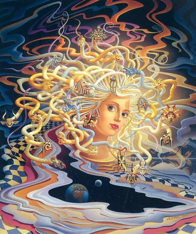 Рисунки фэнтези Мейер 9