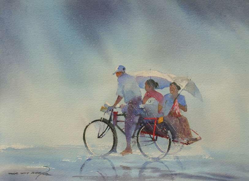 Художник Myoe Win Aun 15
