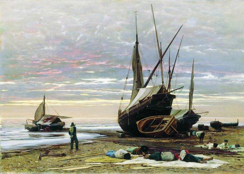 Пейзаж Орловского 18