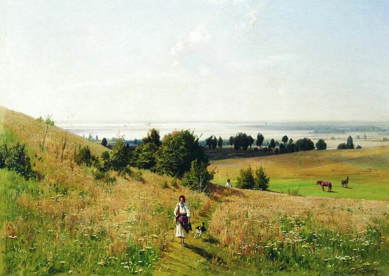 Пейзаж Орловского 6
