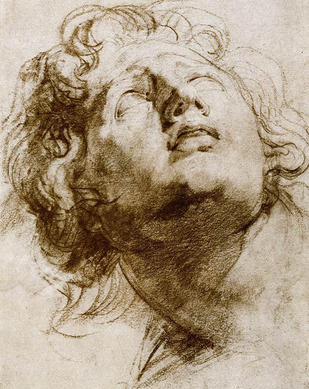 Наброски гравюры Рубенса 17