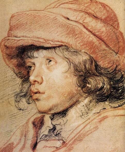 Наброски гравюры Рубенса 8