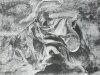 Наброски гравюры Рубенса 1