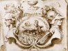 Наброски гравюры Рубенса 16