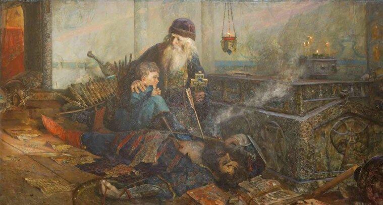 Мастера живописи Рыженко 12