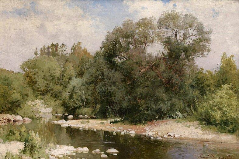 Пейзажи Шильдера 1