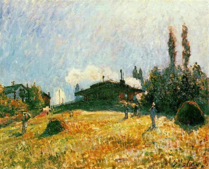 Импрессионизм Сислея Sisley 1