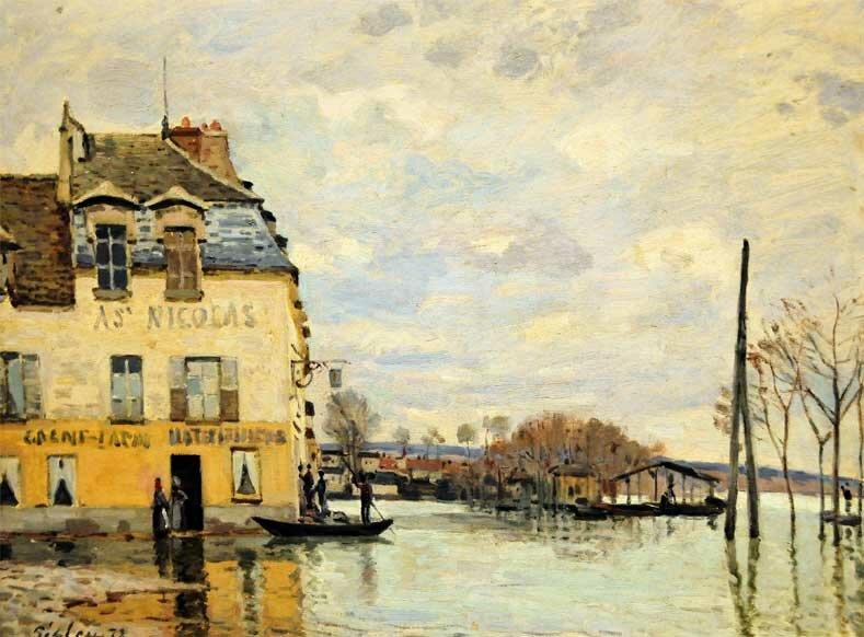 Импрессионизм Сислея Sisley 14