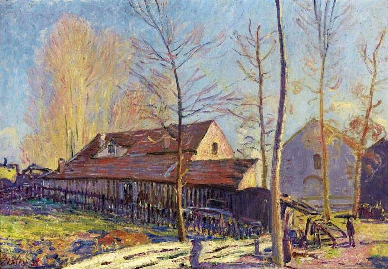 Импрессионизм Сислея Sisley 20