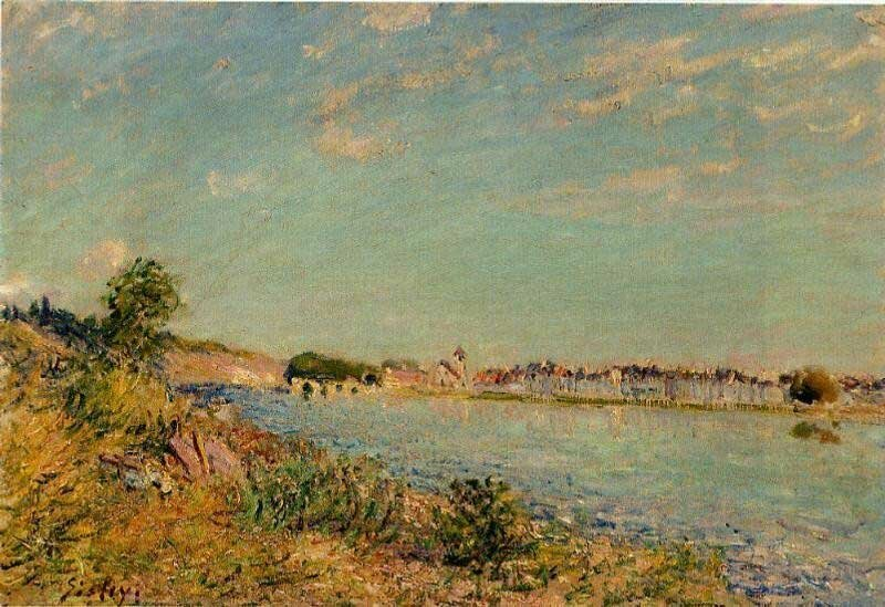 Импрессионизм Сислея Sisley 6