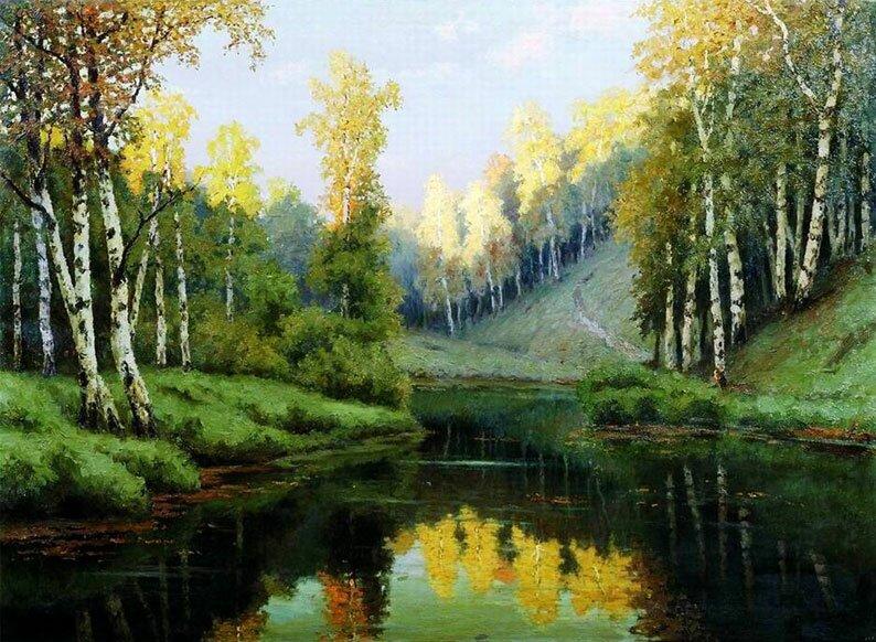 Русский пейзаж Волкова 8