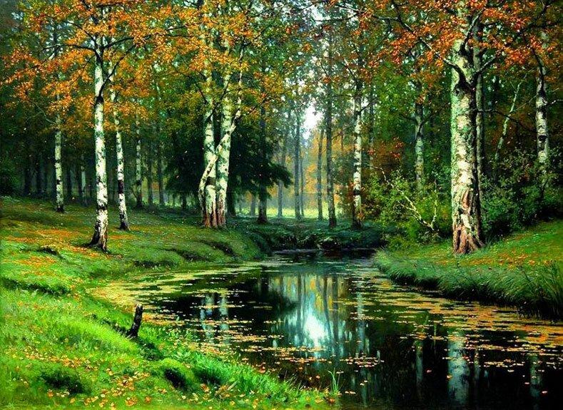 Русский пейзаж Волкова 9