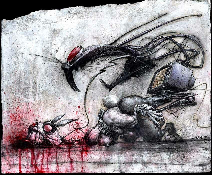 Рисунки Джонатана Вайчека 10