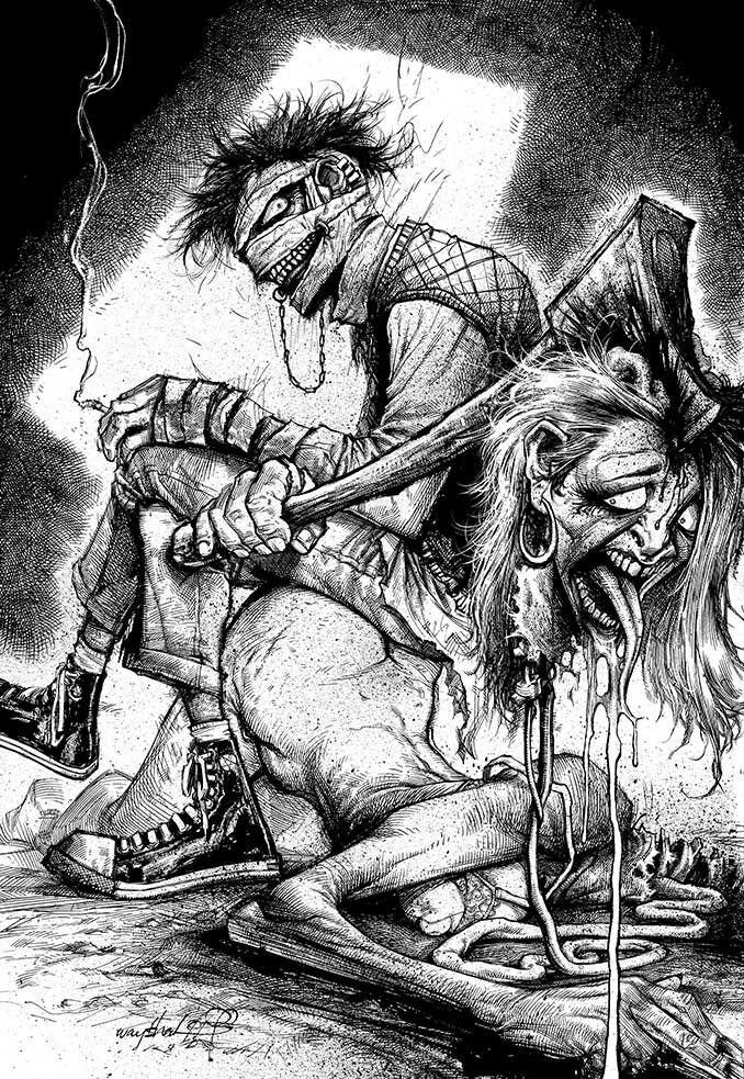 Рисунки Джонатана Вайчека 11
