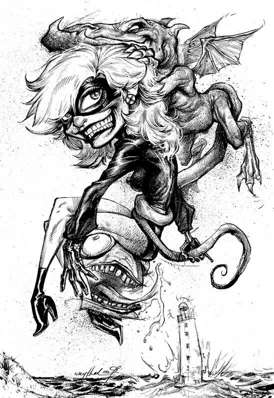 Рисунки Джонатана Вайчека 15