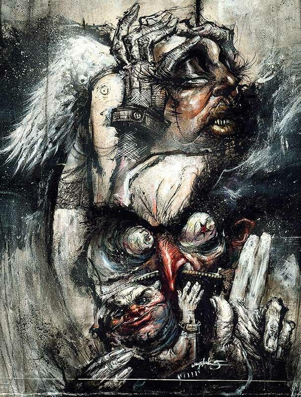 Рисунки Джонатана Вайчека 16