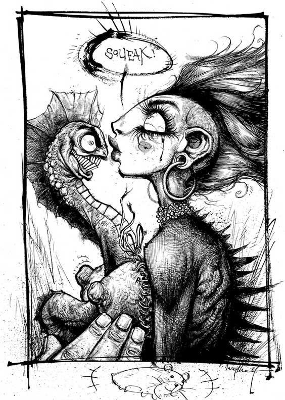 Рисунки Джонатана Вайчека 31