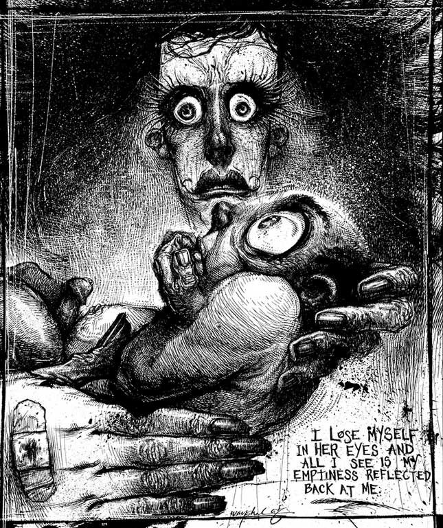 Рисунки Джонатана Вайчека 5
