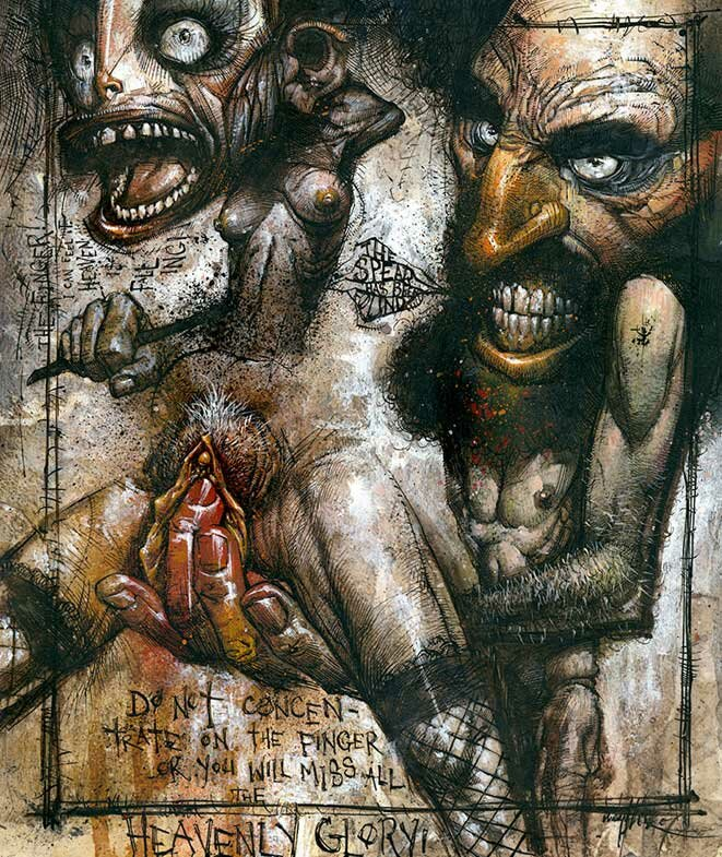 Рисунки Джонатана Вайчека 6
