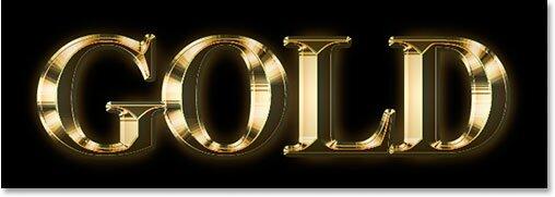Иллюзия золотого текста