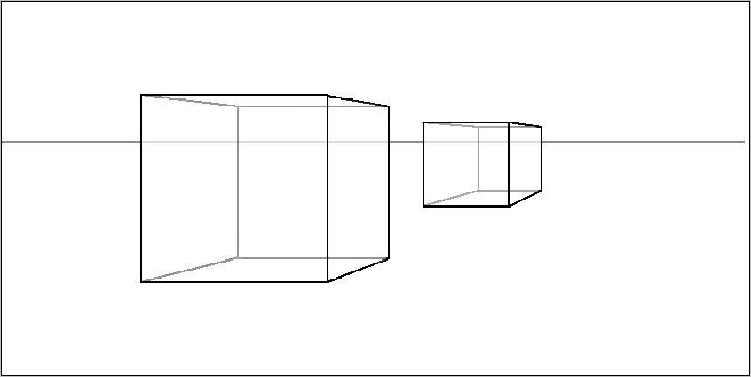 Перспектива куб