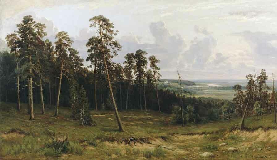 Пейзаж Шишкина