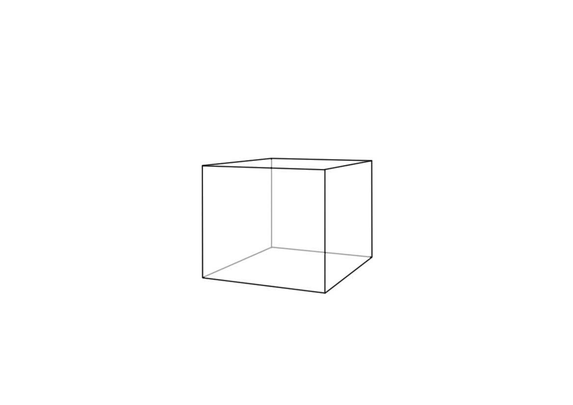Рисунок куб