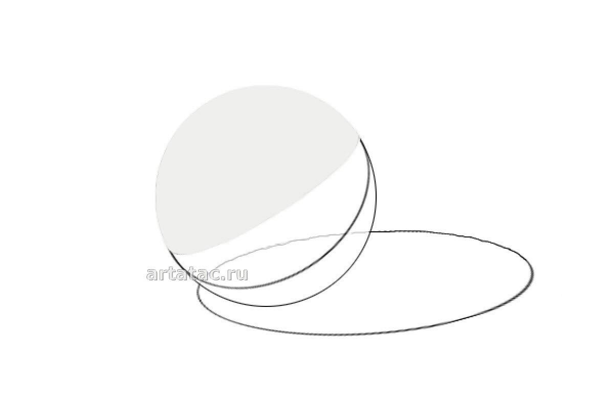 Рисунок шар