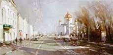 Городской пейзаж Гаппасов
