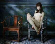 Девушки на картинах Маршенникова
