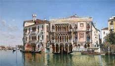 Красивые рисунки Венеции Кампо