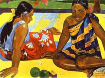 Художник Поль Гоген Paul Gauguin
