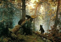 Пейзажи Шишкина медведи