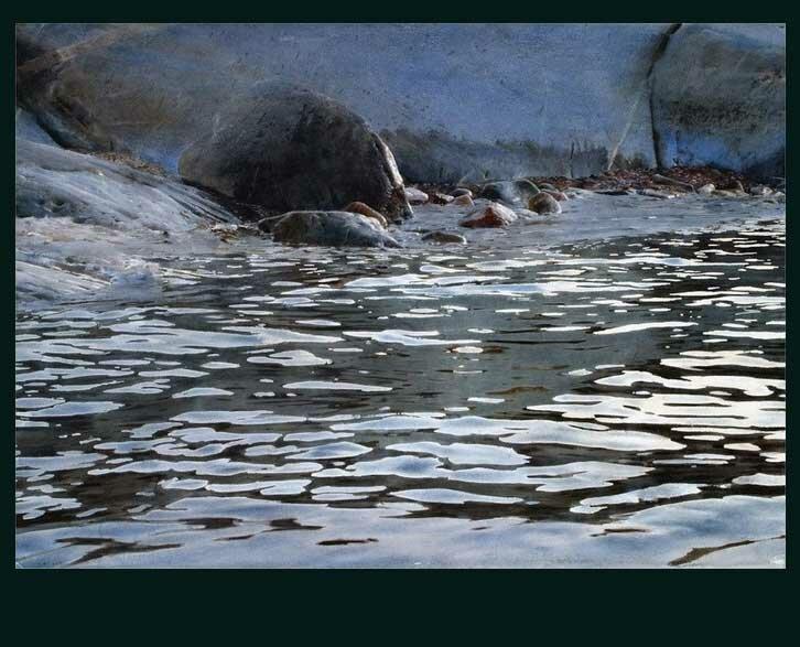 Рисунки акварелью Золанда