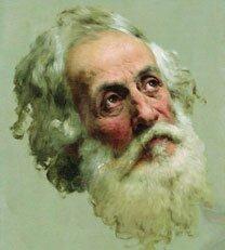 Портрет маслом Бронникова