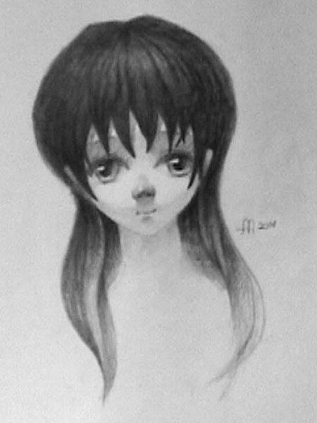 Аниме рисунки карандашом