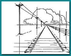 Как правильно рисовать столбы