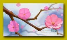 Рисунок онлайн цветов